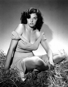 jane russell in bra and panties
