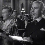 Bill Johnstone as John Jacob Astor in Titanic 1953 with Frances Bergen (Edgar's wife and Candice's Mom)