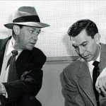 Barton Yarborough (L) with Jack Webb