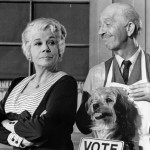 Frank Cady with Bea Benaderet (Petticoat Junction)