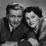 Benita Hume (and husband Ronald Colman)