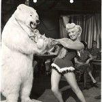 Betty Grable and Friend