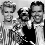 "Penny Singleton with Arthur Lake (and ""Daisy"")"