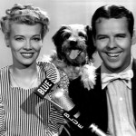 Arthur Lake (Dagwood) with Penny Singleton (Blondie)