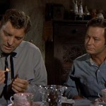 DeForest Kelley with Burt Lancaster (Gunfight At The O.K. Corral 1957)
