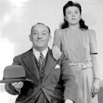 Charlie Cantor with Minerva Pious 1941