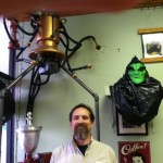 Coffee Pot Martian Tripod (Grover's Mill Coffee House)