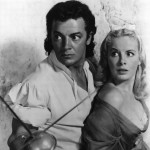 Corne Wilde with Jean Wallace (in Star Of India 1954)
