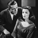 Dana Andrews with Gene Tierney (Laura 1944)