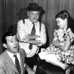 Dennis Day with Cliff Arquette & Jeri Lou James in RCA Victor Show 1953