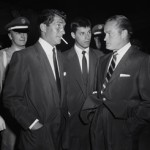 Dean Martin and Jerry Lewis with Bob Hope