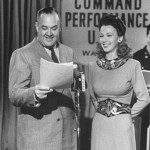 Don Wilson with Carole Landis 1943