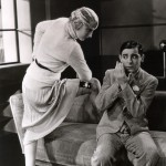 Eddie Cantor with Charlotte Greenwood in Palmy Days 1931