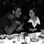 Gloria Blondell with Errol Flynn