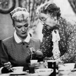 Jane Morgan (R) with Eve Arden in Our Miss Brooks