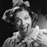 Fanny Brice as Baby Snooks