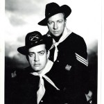 Vic Perrin with Raymond Burr (Fort Laramie)