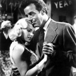 Gerald Mohr with Mamie Van Doren in Guns, Girls & Gangsters (1959)