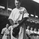Gary Cooper as Lou Gehrig