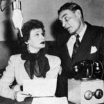 Ed Gardner with Shirley Booth (Duffy's Tavern)