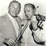 George Burns with Jack Benny