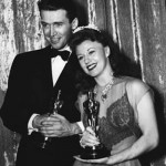 Ginger Rogers & Jimmy Stewart (at 13th Academy Awards Ceremony)