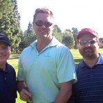 John Schneider (the tall one!) with Greg & Production Wiz, Bart Taylor