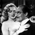 Groucho Marx with Marilyn Monroe