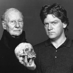 "John Gielgud with Kenneth Branagh (1992 BBC Radio's ""Hamlet"")"