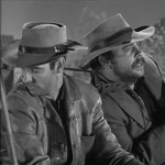 Sam Buffington (R) with James Best in Wanted Dead Or Alive