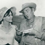 John McIntire with daughter Holly (WagonTrain 1963)