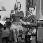 June Allyson (with husband Dick Powell)