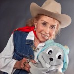 June Foray (and Rocky The Flying Squirrel)