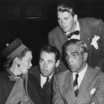 Boris Karloff (Bottom Right) with Jane Wyman, Henry Fonda & Ronald Reagan