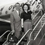 Richard Kollmar with wife Dorothy Kilgallen