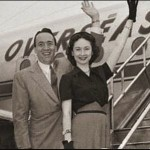 Dorothy Kilgallen with husband, Richard Kollmar (Boston Blackie)