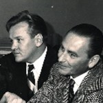 Ben Wright (R) with Larry Thor
