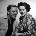 Elsa Lanchester with husband Charles Laughton