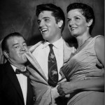 Lou Costello with Elvis & Jane Russell (1957)
