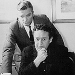 John Meston (Seated) and Norman MacDonnell