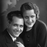 Marian Jordan with husband Jim (Fibber McGee & Molly)