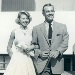 Melville Ruick with his daughter, Barbara 1954