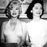 Dorothy Kilgallen with Marilyn Monroe
