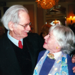 Peggy Webber with Norman Corwin