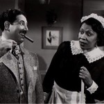 Lillian Randolph with Harold Peary (The Great Gildersleeve)