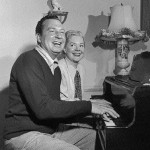 Phil Harris & Alice Faye (at home)