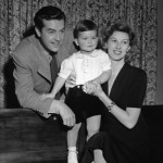 Ray Milland with wife Muriel and son Daniel.