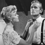 Richard Widmark with Doris Day (in film-Tunnel Of Love)