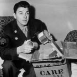 Ronald Reagan with a CARE Package