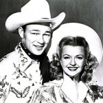 Dale Evans with Roy Rogers 1950